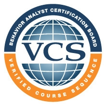 Verified Course Sequence: Behavior Analyst Certification Board