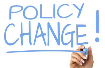 Policy Change!