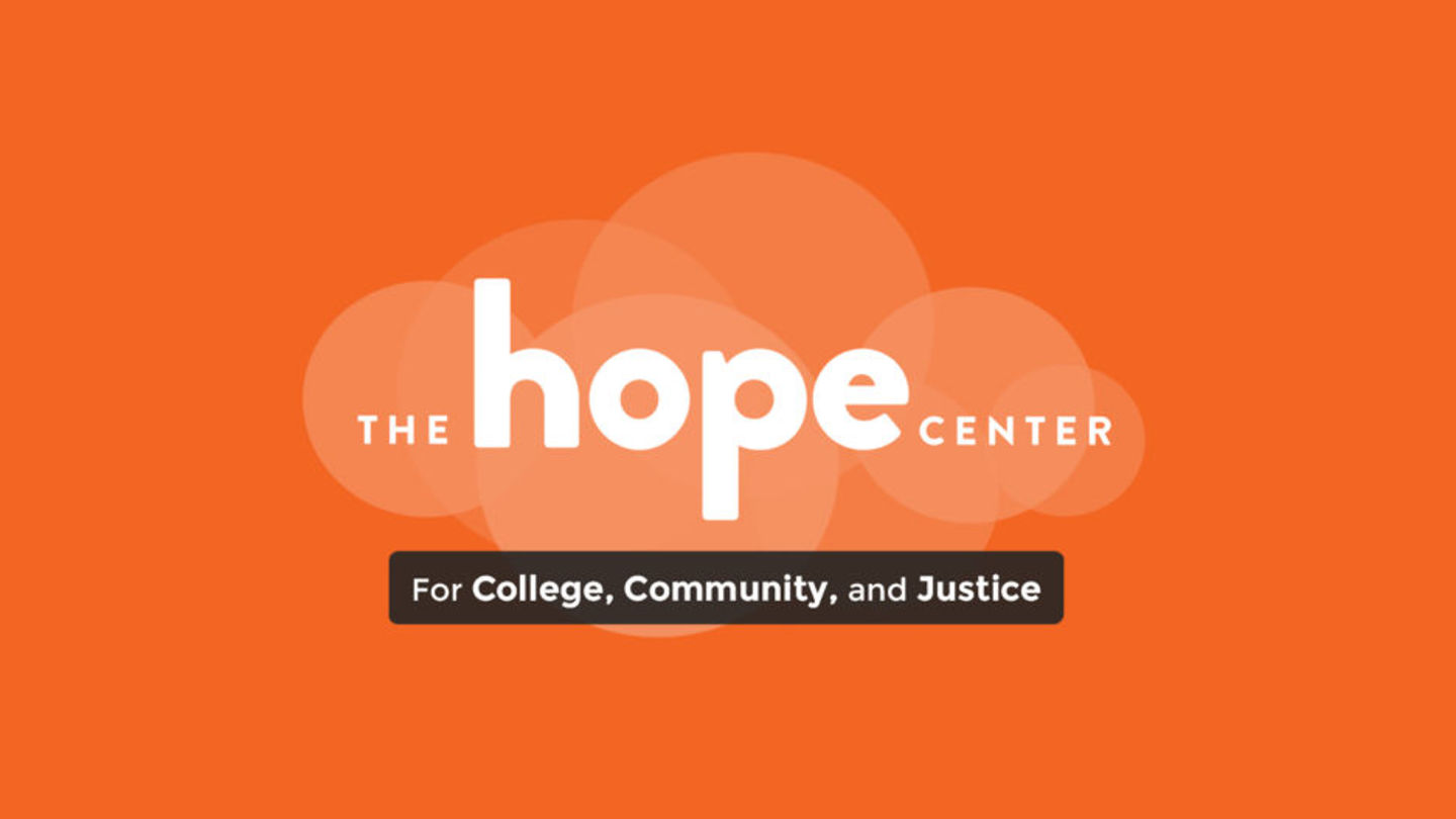 Hope Center for College, Community, and Justice Logo
