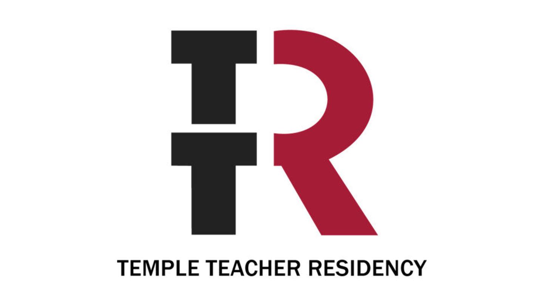 Temple Teacher Residency program logo