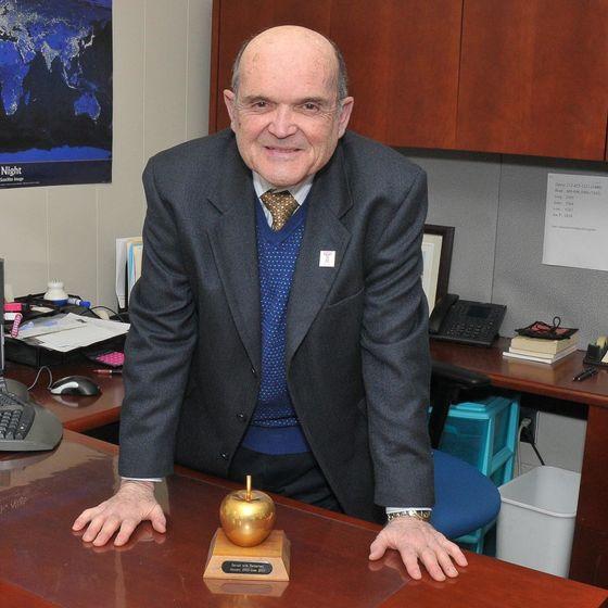Joseph P. DuCette in his office